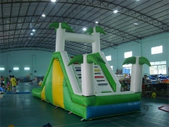 Tropical Inflatable Jungle Water Slide