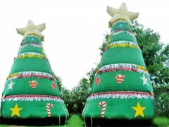 Huge Inflatable Christmas Tree