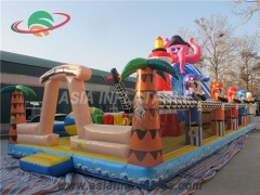 Extreme Run Challenge Inflatable Fun House