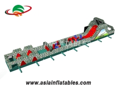 Inflatable Obstacle Course For adult