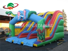 Inflatable Elephant Slide