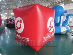Red Cube Balloon