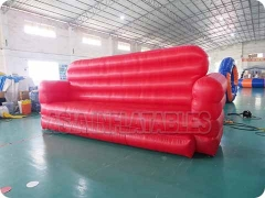 Red Inflatable Modern Lounge Sofa