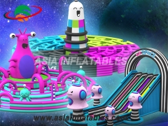 Colourful Art-Zoo Inflatable Theme Park Inflatable Theme Park Manufacturers